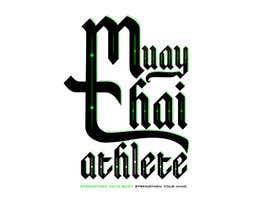 #15 para Design a Logo for MuayThaiAthlete.com por KanyllaAlvarez