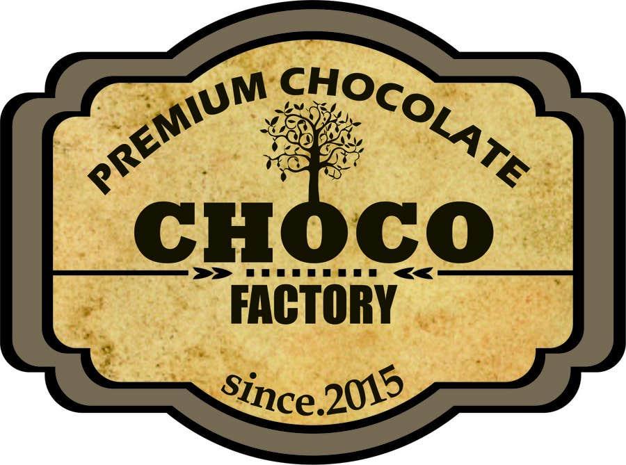Penyertaan Peraduan #22 untuk Choco Factory Logo