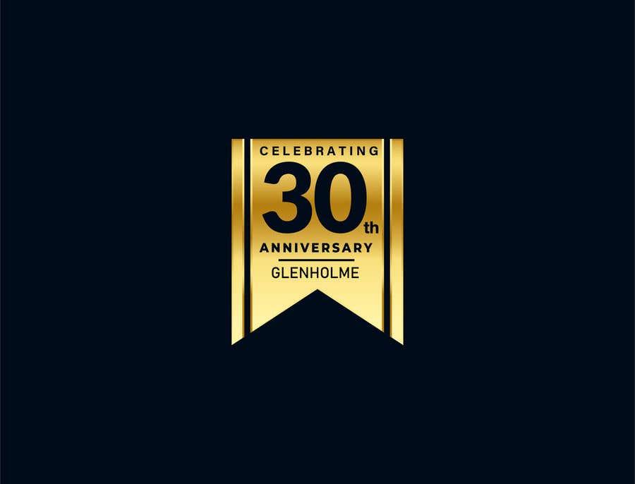 Конкурсная заявка №                                        346                                      для                                         Create a 30th Anniversary version of our logo for us
