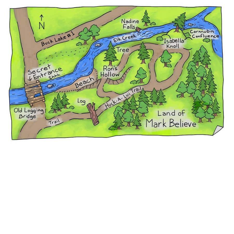 Penyertaan Peraduan #                                        28                                      untuk                                         Fun small maps for book
