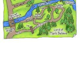#28 untuk Fun small maps for book oleh sechavia