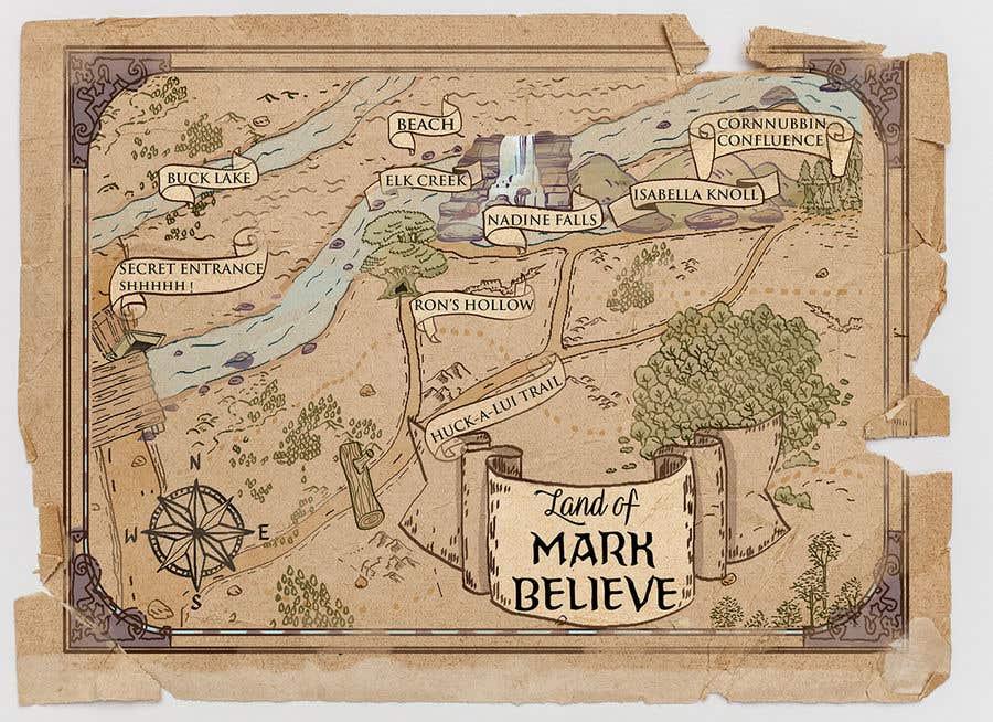 Penyertaan Peraduan #                                        26                                      untuk                                         Fun small maps for book