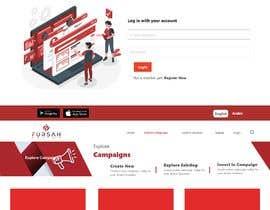 #35 for Make UI/UX design for my website and application af robin6460874