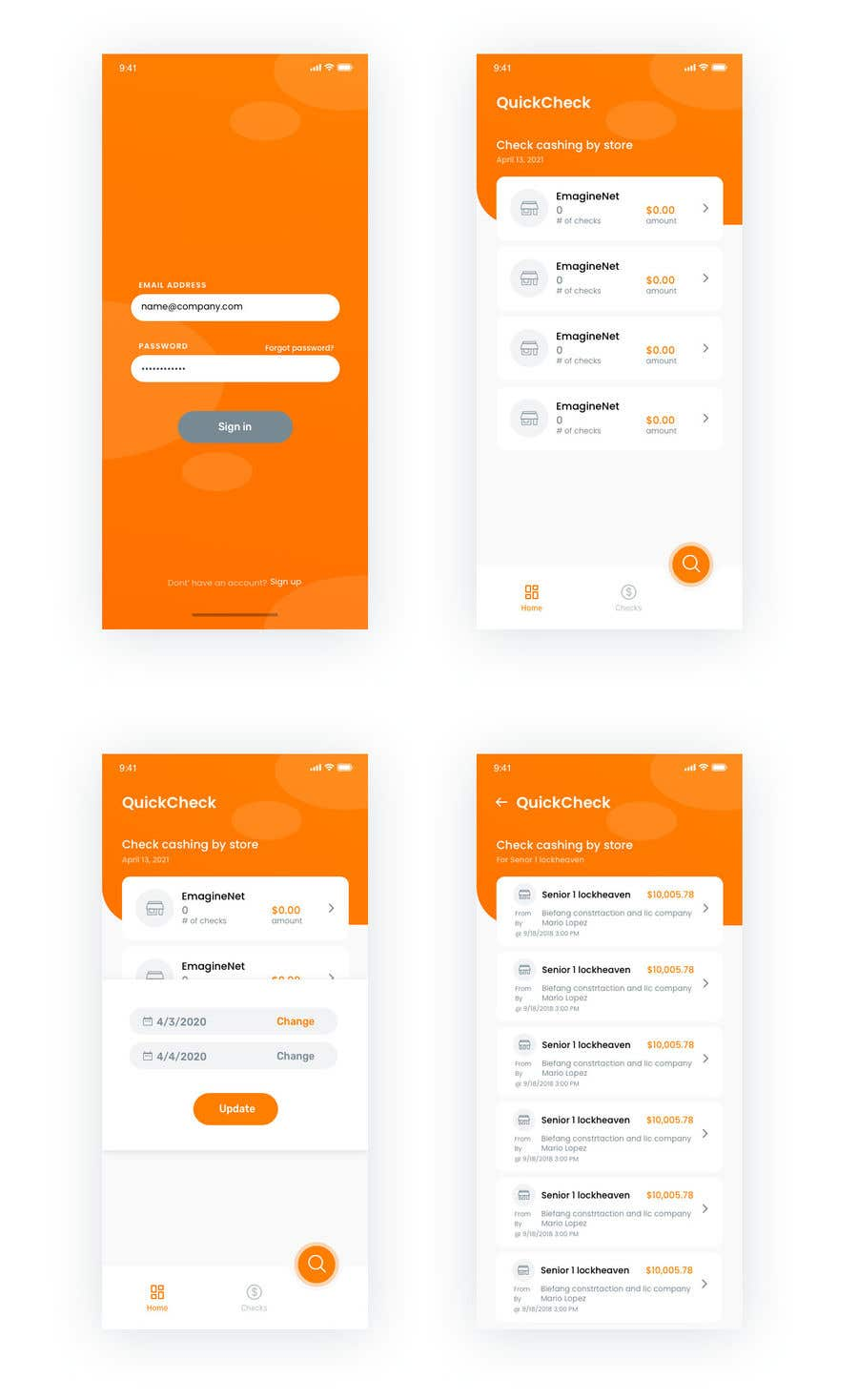 Proposition n°                                        66                                      du concours                                         Make UI/UX design for my website and application
