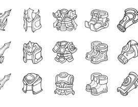 #68 untuk 2d design of an armour for gaming oleh fikrimubarok13