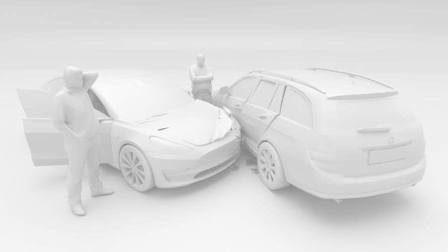 Proposition n°                                        37                                      du concours                                         3d white auto body damage