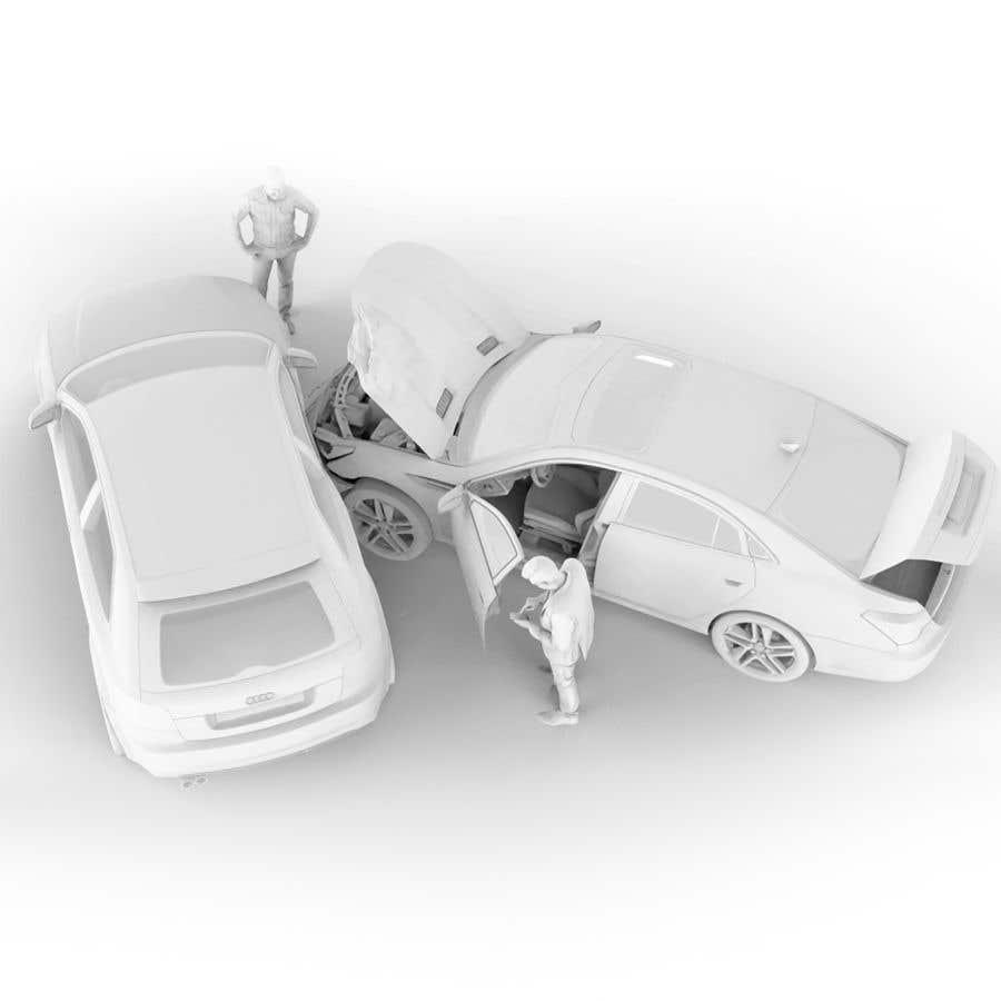 Proposition n°                                        44                                      du concours                                         3d white auto body damage
