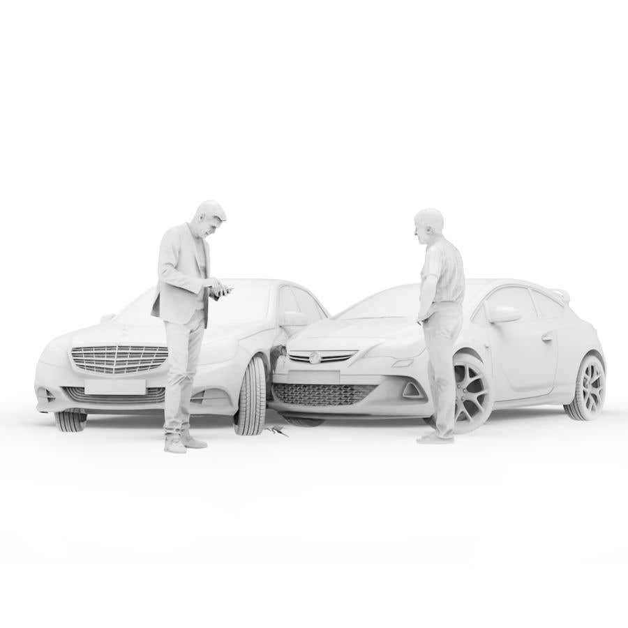 Proposition n°                                        65                                      du concours                                         3d white auto body damage
