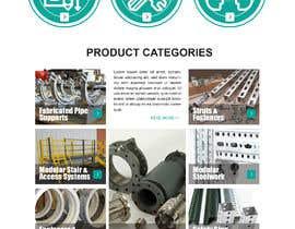 nº 22 pour Build a mockup for new website homepage par carmelomarquises