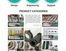 nº 40 pour Build a mockup for new website homepage par carmelomarquises