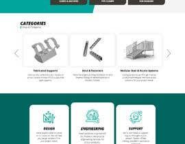 nº 129 pour Build a mockup for new website homepage par u2smile85