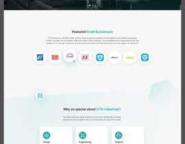 nº 106 pour Build a mockup for new website homepage par dolosagency