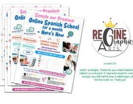 #10 untuk Create/update Flyer For Marketing to Parents of Elementary Kids oleh reginelace20