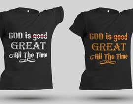 Nro 165 kilpailuun Tshirt Design käyttäjältä anamikasraboni