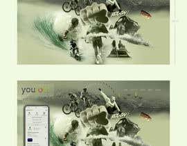 Nro 96 kilpailuun Build me a photo collage for a landing page käyttäjältä msjart