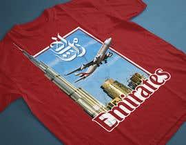 Nro 77 kilpailuun Design a t-shirt featuring Emirates Airlines and the retirement of their first Airbus A-380 käyttäjältä yafimridha