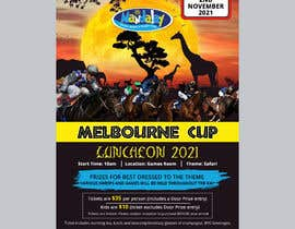 #117 for Melbourne Cup Luncheon Flyer 2021 by miloroy13