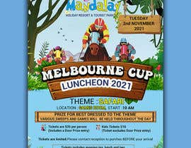 #159 for Melbourne Cup Luncheon Flyer 2021 by israfilbsj