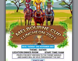 #149 for Melbourne Cup Luncheon Flyer 2021 by jahidsetu2020