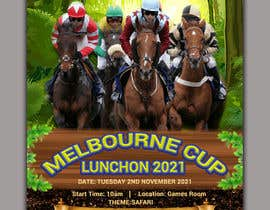 #109 for Melbourne Cup Luncheon Flyer 2021 by setuakter20