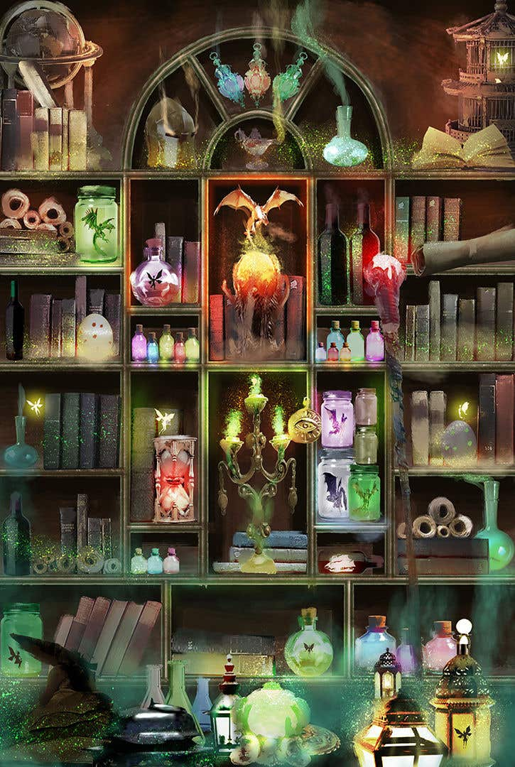 Penyertaan Peraduan #                                        50                                      untuk                                         Digital Illustration - Fantasy art
