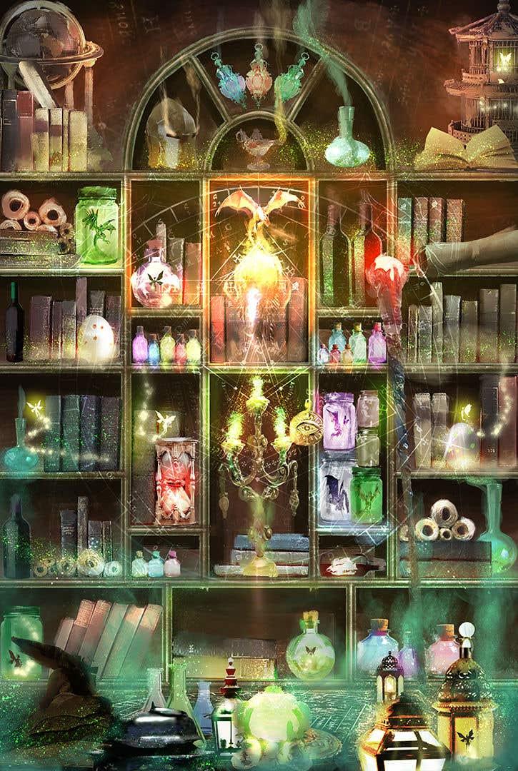 Penyertaan Peraduan #                                        53                                      untuk                                         Digital Illustration - Fantasy art