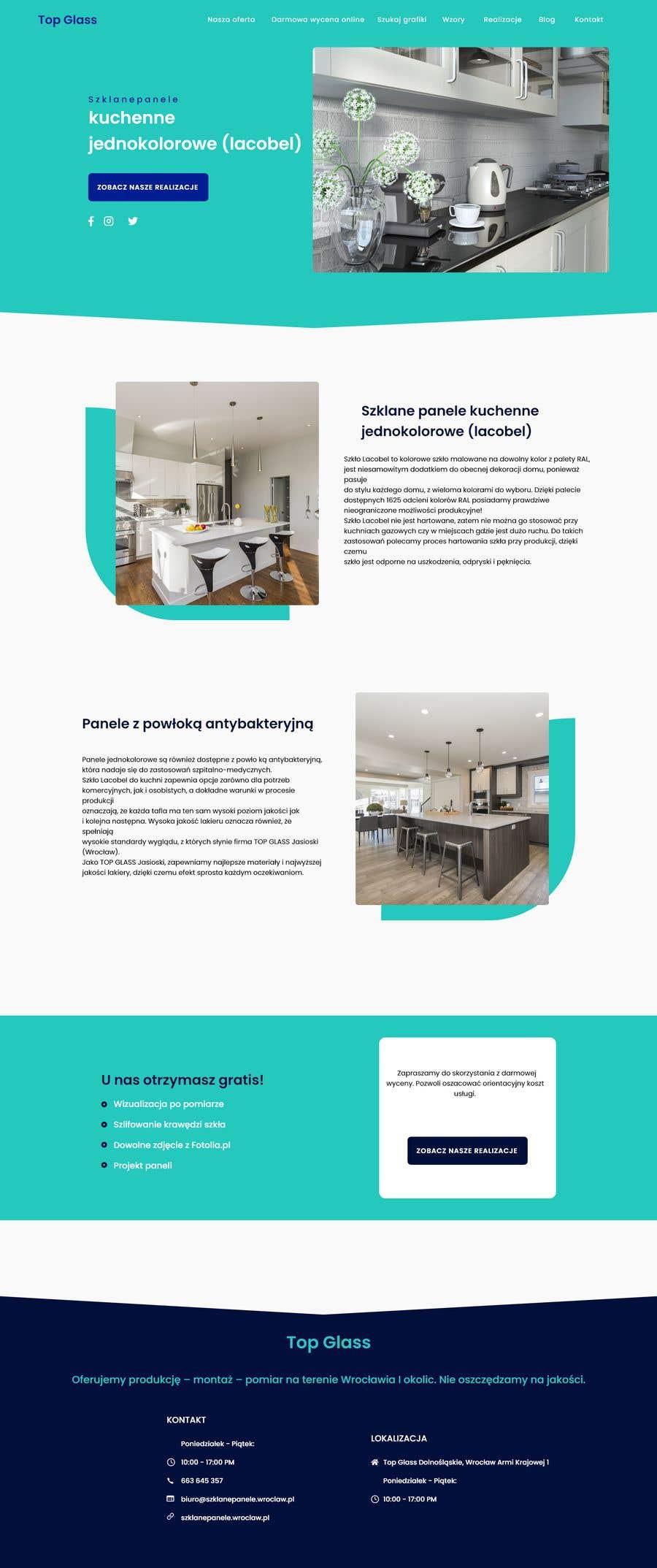 Proposition n°                                        7                                      du concours                                         Re-design website for easier UX and UI