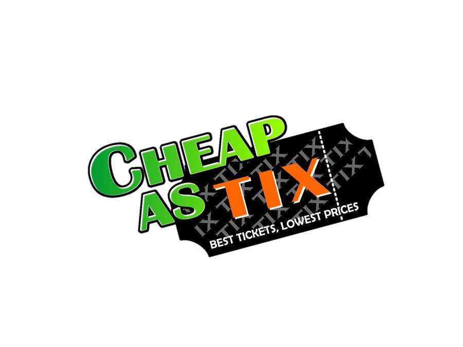 Inscrição nº                                         123                                      do Concurso para                                         Logo Design for Cheap As TIX