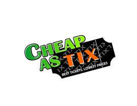 #123 untuk Logo Design for Cheap As TIX oleh canilho
