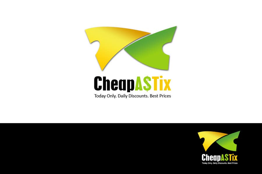 #112 for Logo Design for Cheap As TIX by tomq1989