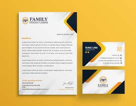 #153 para Business card & letterhead - simple financial business por dhimenronjond
