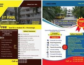 #34 untuk Flyer design for Degree college  and PU College, Admission Open announcement . Data mentioned Below. Use extra oleh Eliassarkar3466