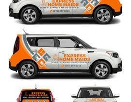 nº 32 pour CAR WRAP DESIGN CONTEST FOR HOUSE CLEANING COMPANY par ekkoarrifin