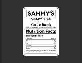ajmal32150 tarafından Create a nutrition label için no 57