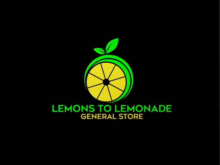Konkurrenceindlæg #                                        83                                      for                                         Logo for Lemons to Lemonade General Store