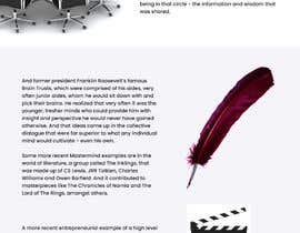 #33 untuk Create Additional Webpages For Existing Design oleh Muzeative