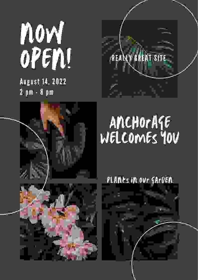 Penyertaan Peraduan #                                        50                                      untuk                                         Create a Poster for my design concept - open for business - Anchorage Welcomes You