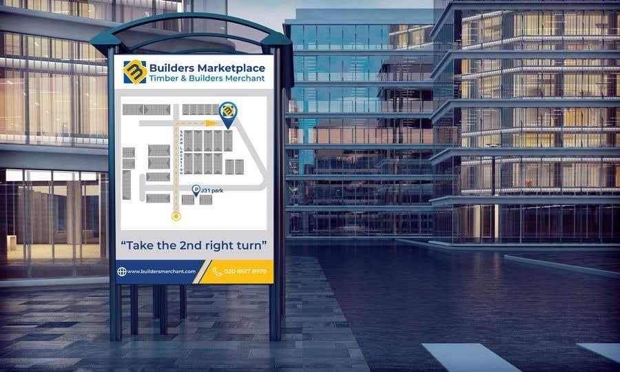 Konkurrenceindlæg #                                        40                                      for                                         Design a Direction Poster Map for Business