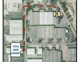 #24 for Design a Direction Poster Map for Business af chirag05b