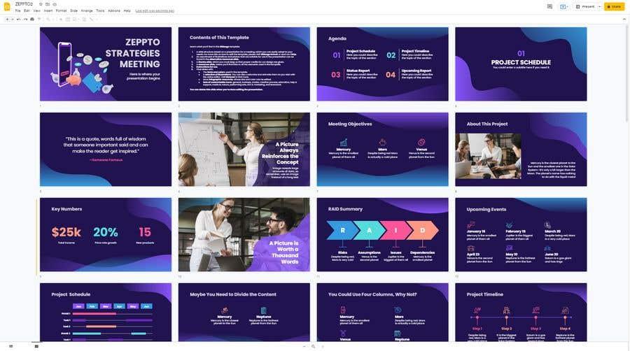 Konkurrenceindlæg #                                        13                                      for                                         Build me a Google Slides Presentation template