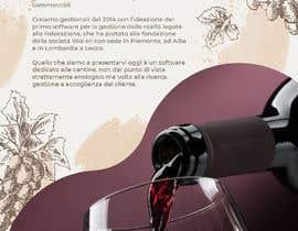 nº 9 pour Volantino A4 + motto per programma per vinicoltori par leonorfczpires19
