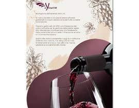 nº 24 pour Volantino A4 + motto per programma per vinicoltori par leonorfczpires19
