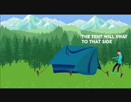 #49 untuk Swaying Tent Animation oleh badhusha73