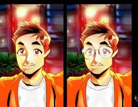 #62 untuk Turn me into an anime character oleh chiwai90