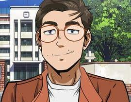 #38 untuk Turn me into an anime character oleh riosalado1