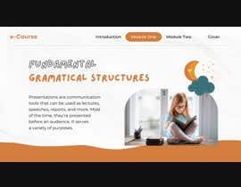 nº 15 pour Online course template (slide show) in adobe after effect par DesiignerPanda