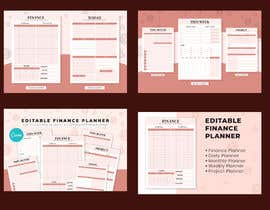 """#9 for 6"""" x9"""" Planner Interior Canva Templates by mdsalmanahemd"""