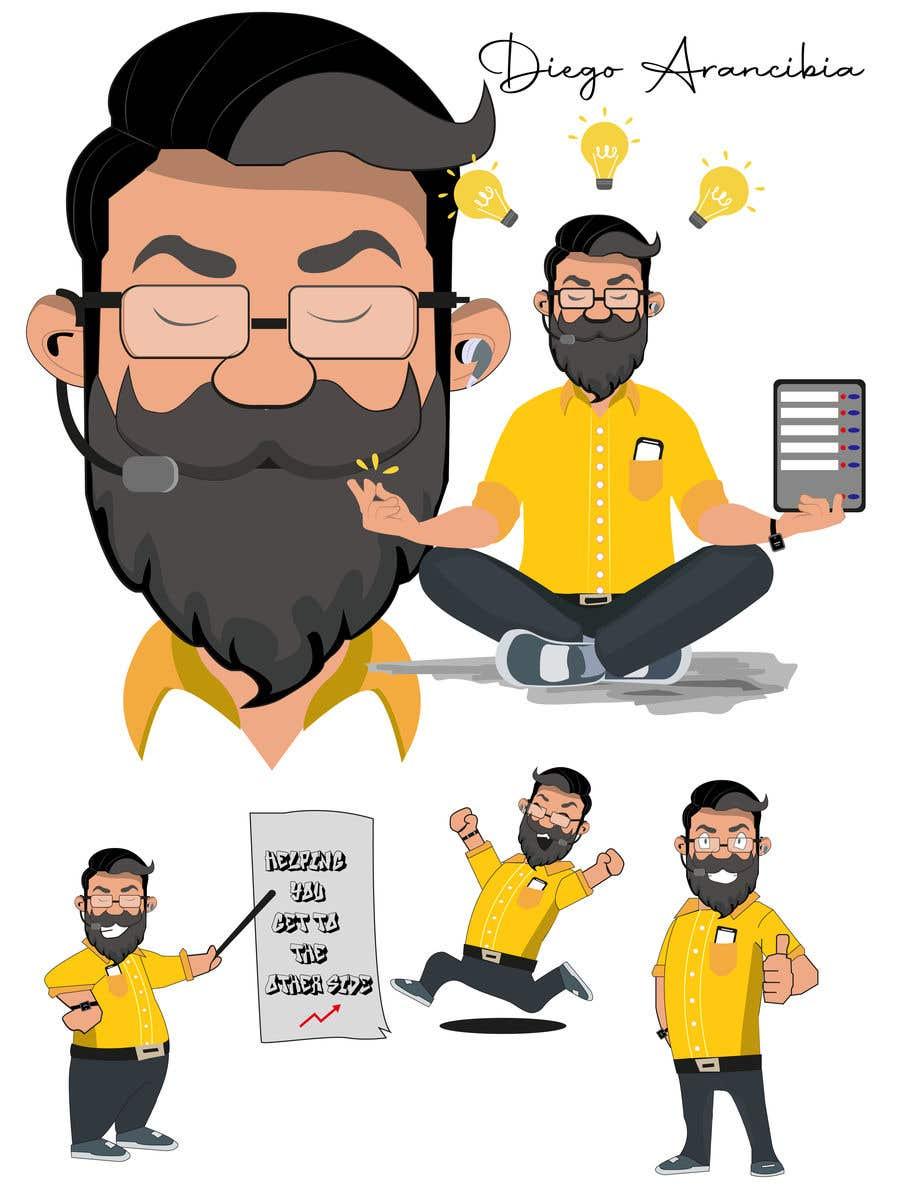 Penyertaan Peraduan #                                        22                                      untuk                                         Design Cartoon Character