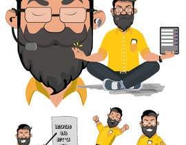 #22 untuk Design Cartoon Character oleh Drakaryus