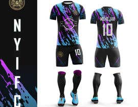 nº 182 pour DESIGN A THIRD KIT FOR FOOTBALL CLUB IN NEW YORK par abdalmehejar